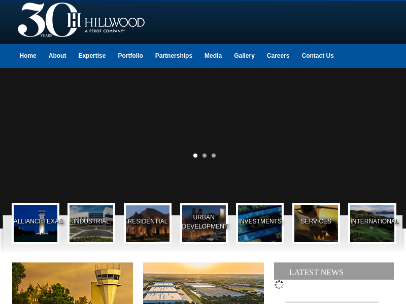 Hillwood,  a Perot Company.