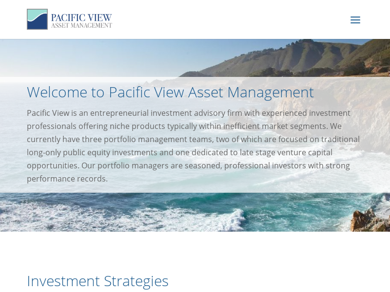 Pacific View Asset Management, LLC – Pacific View Asset Management, LLC