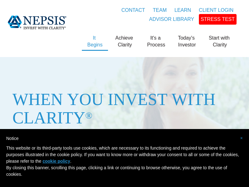 NEPSIS Invest with Clarity