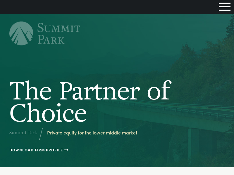 Charlotte Private Equity Firm | Summit Park LLC