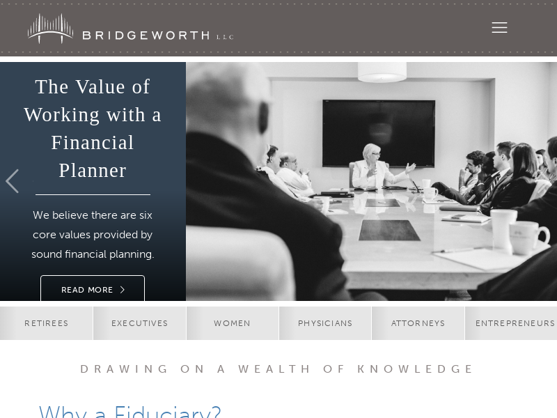 Bridgeworth, LLC - Drawing on a Wealth of Knowledge