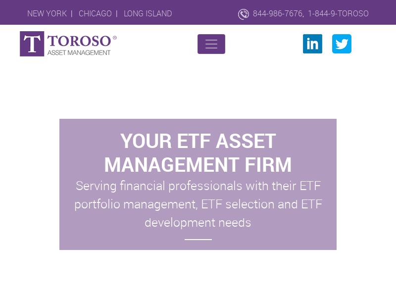 Toroso - ETF Asset Management Firm & ETF Industry Players