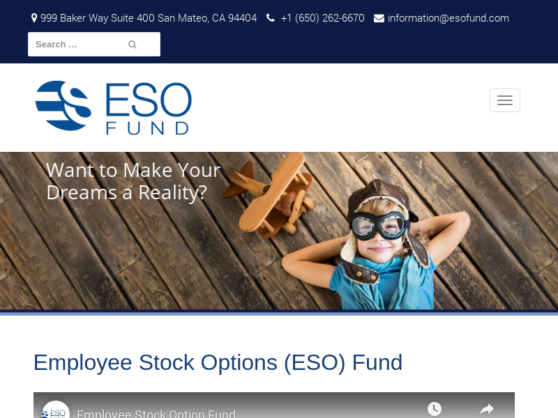 Exercise Employee Stock Options, Liquidity for Your Stock Options | ESO Fund
