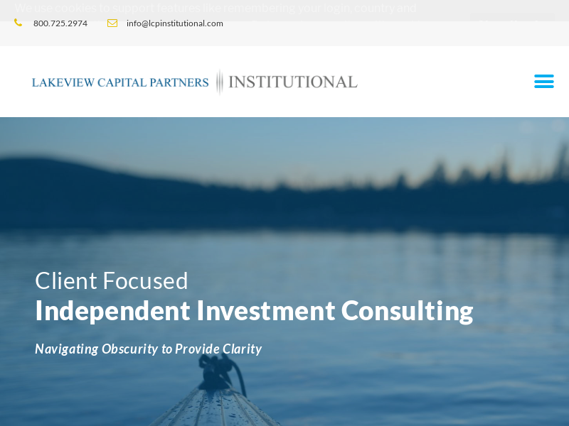 Home - Lakeview - Independent Investment Consultants