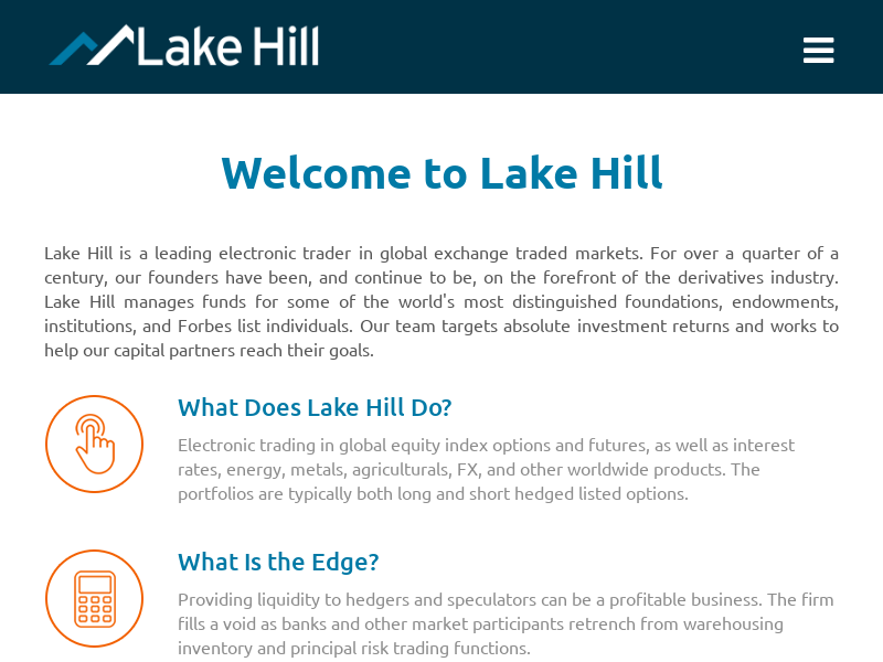 Lake Hill