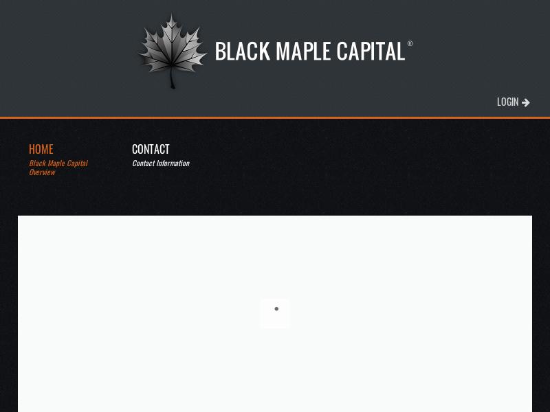 Black Maple Capital