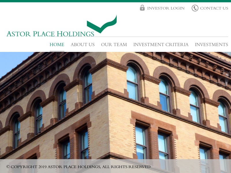 Home : Astor Place Holdings