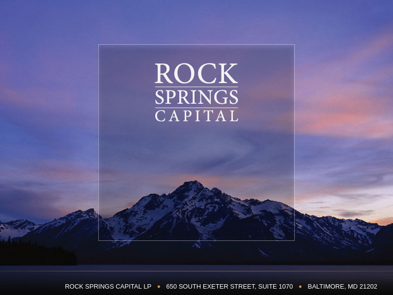 Rock Springs Capital