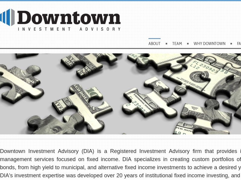 Downtown Investment Advisory - ABOUT