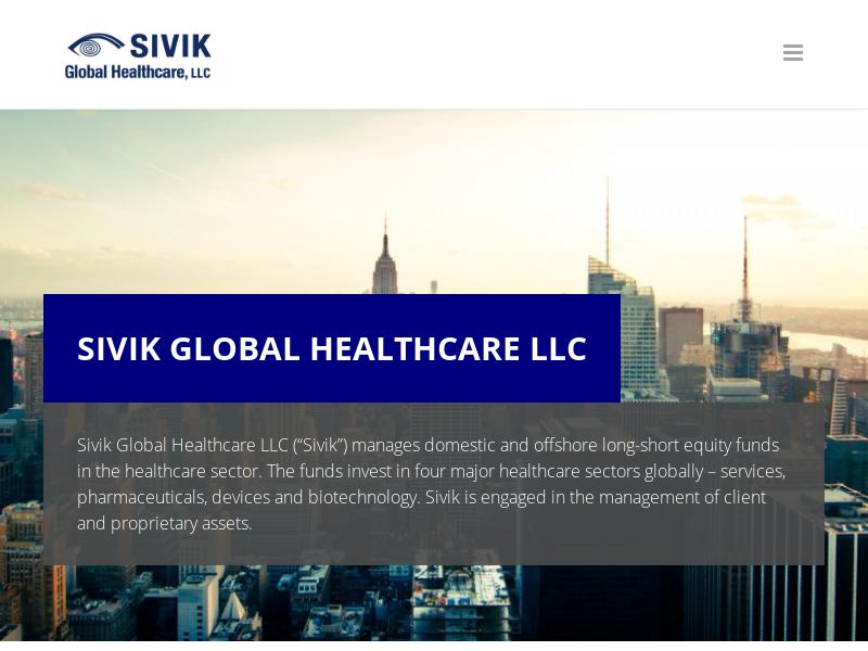 Home - Sivik Global Healthcare, LLC