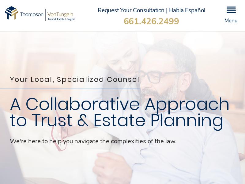 Thompson   VonTungeln A.P.C.   Lancaster Estate Planning Lawyers