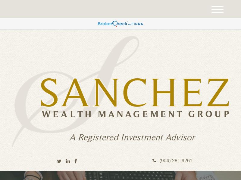 Home | Sanchez Wealth Management Group