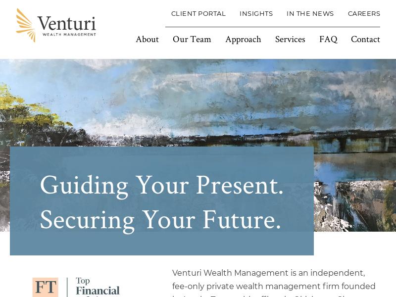 Venturi Wealth Management | Private Wealth Advisors in Austin Texas