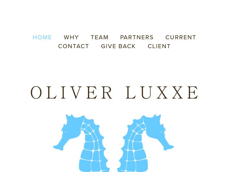 OLIVER LUXXE ASSETS