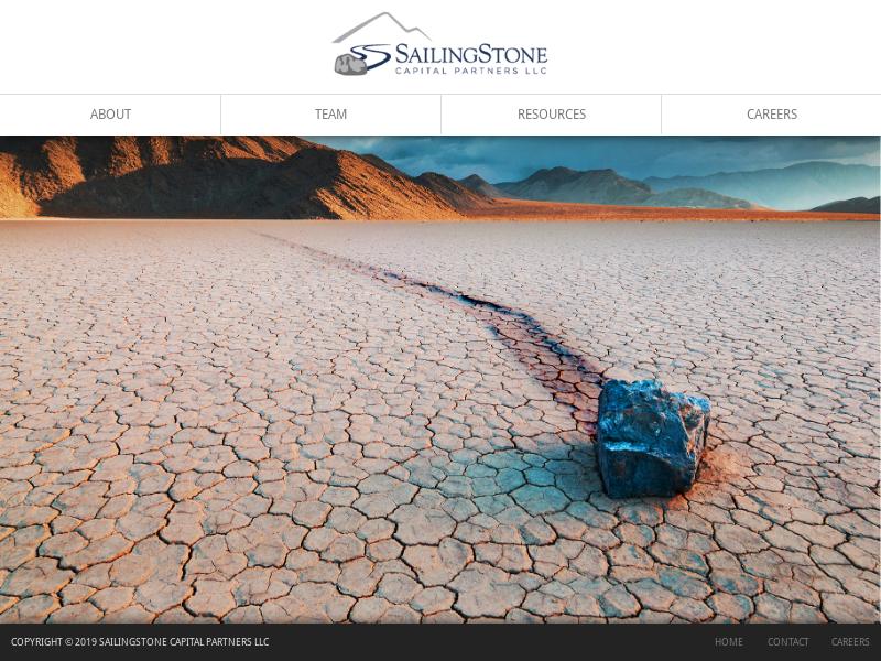 SAILINGSTONE CAPITAL
