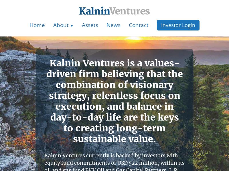 Home - Kalnin Ventures