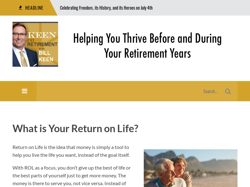 Keen On Retirement - Kansas City Retirement Planning - Financial Planning - Wealth Advisor Bill Keen - Podcast - Keen On Retirement