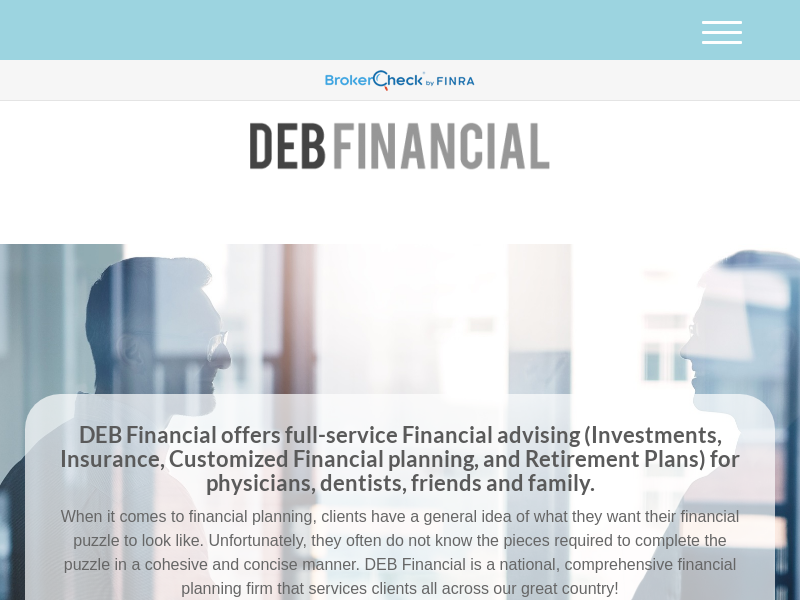 Home | DEB Financial