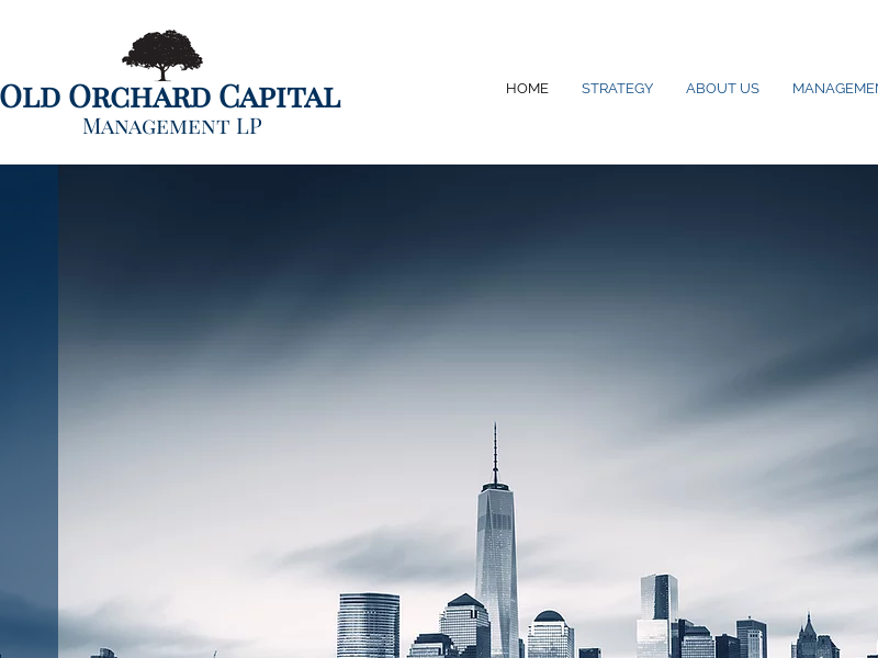 Old Orchard | New York | Old Orchard Capital Management LP