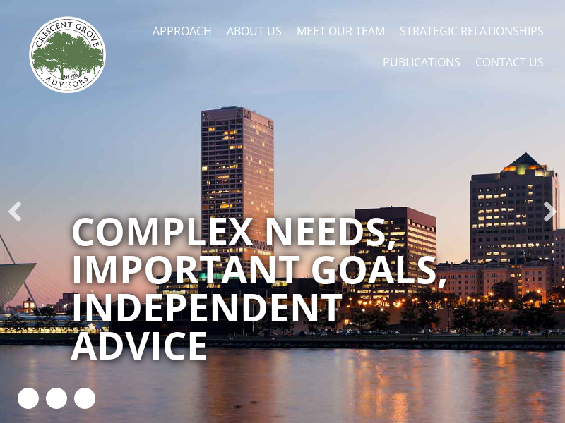Crescent Grove Advisors – Sophisticated, objective investment and financial guidance