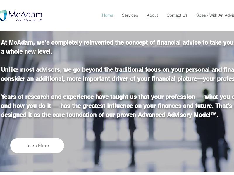 Retirement Planning | McAdam Financial | Philadelphia