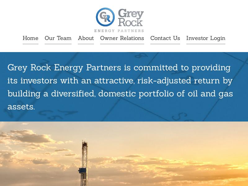 Home :: Grey Rock Energy Partners