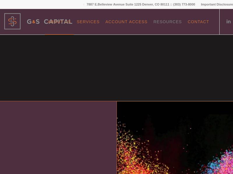G&S Capital - Denver-Based Investment Management Services