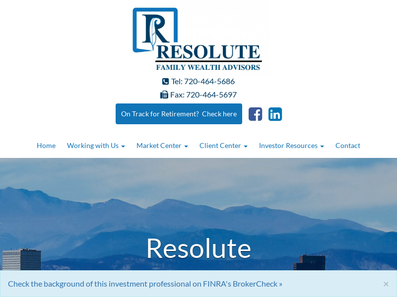 Home | Resolute Family Wealth Advisors