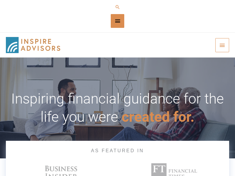Inspire Advisors – financial guidance for the life you were created for