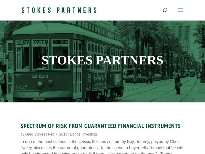 Blog - Stokes Partners