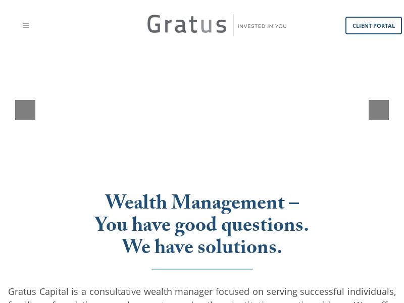 Atlanta Wealth Management Firm | Gratus Capital