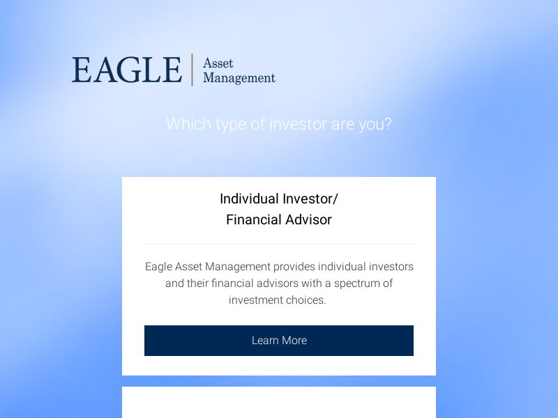 Eagle Asset Management