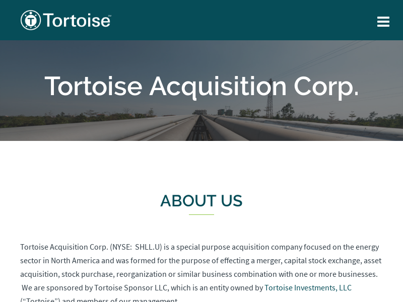 Tortoise Acquisition Corp.