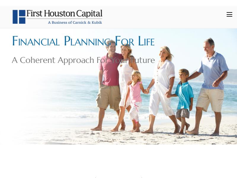 First Houston Capital | A Business of Carnick & Kubik
