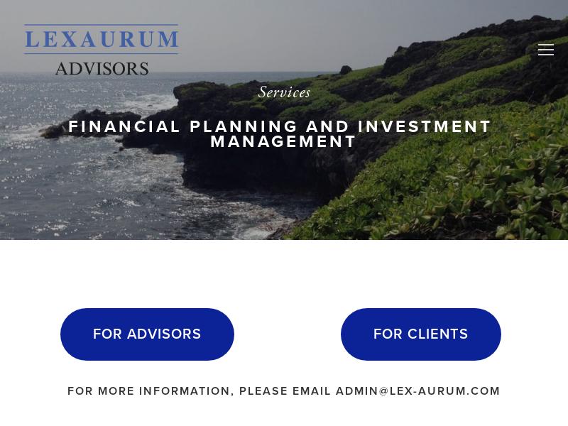 LexAurum Advisors, LLC