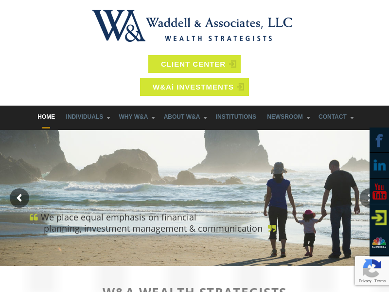 Waddell & Associates, LLC | Improve life. Provide clarity. Remove fear.