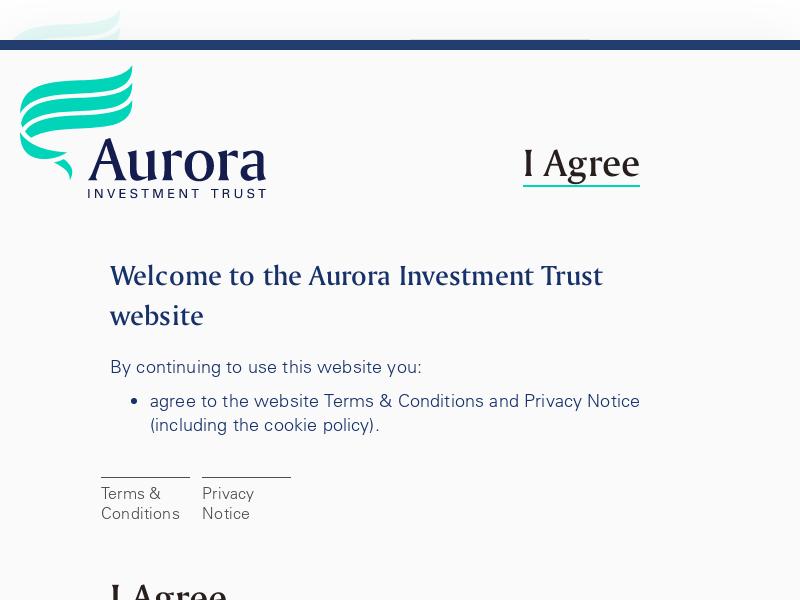 UK Investment Trust | Aurora Investment Trust