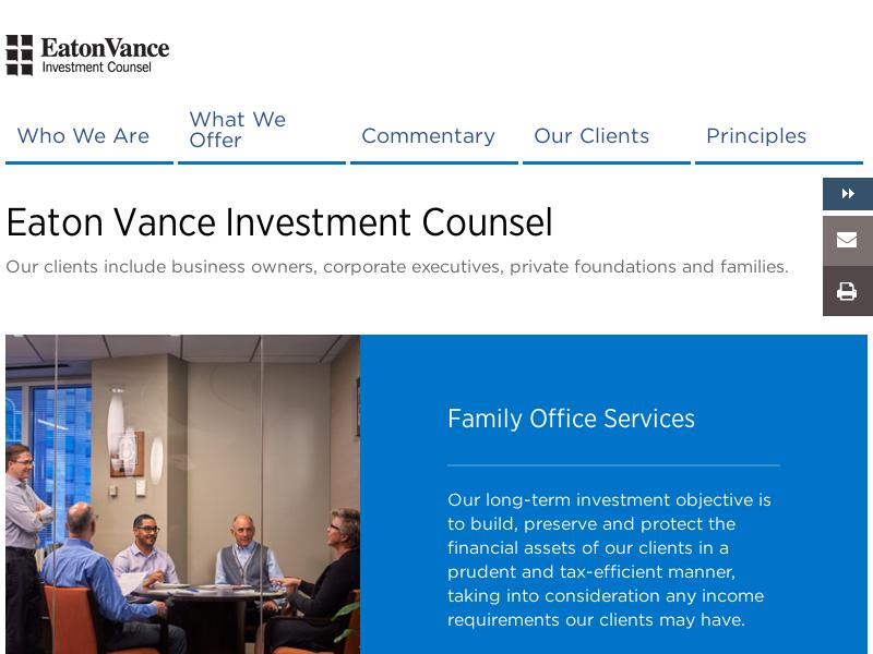 Eaton Vance Investment Counsel | Eaton Vance
