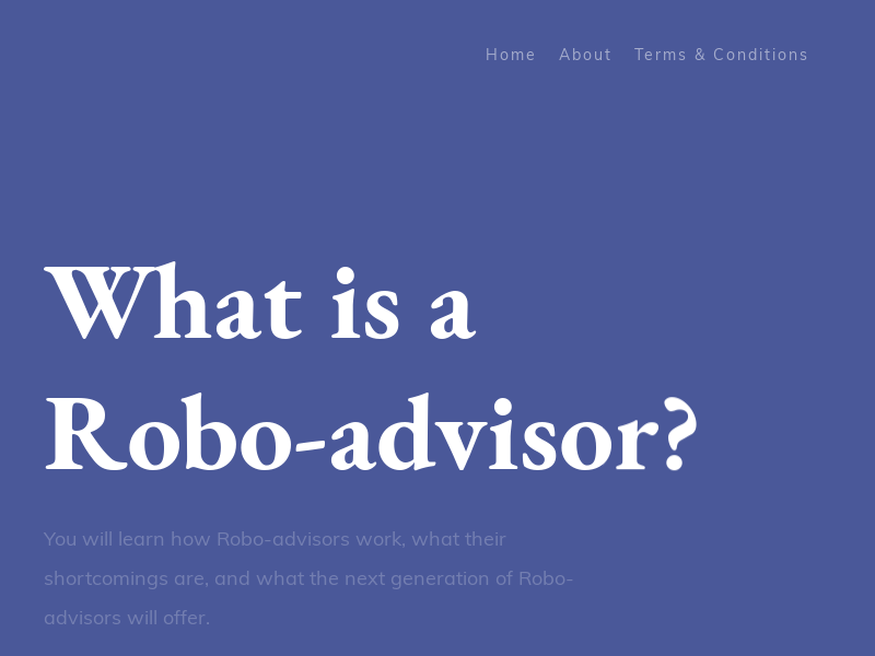 What Is a Robo-Advisor?   Insider's Guide From a Founder