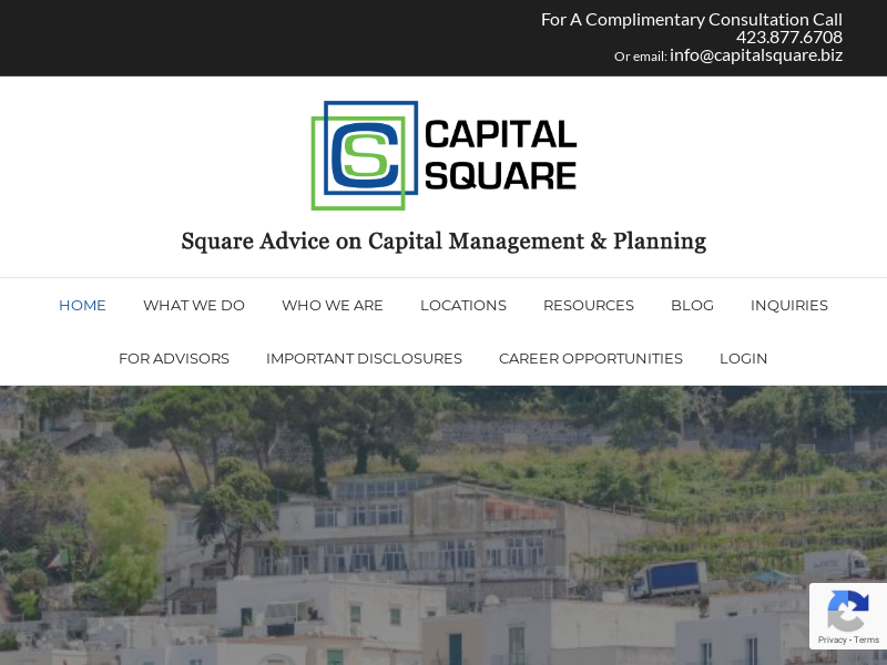 Capital Square | Square Advice for Capital Management and Planning