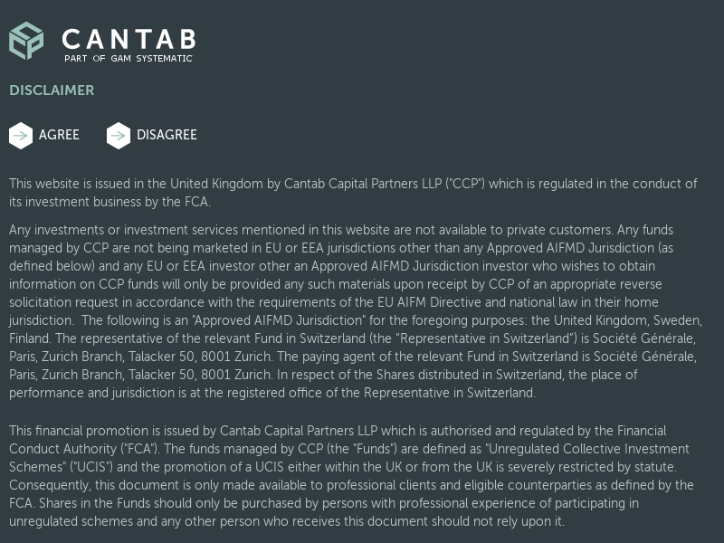 Why Cantab? - Cantab - Part of GAM Systematic