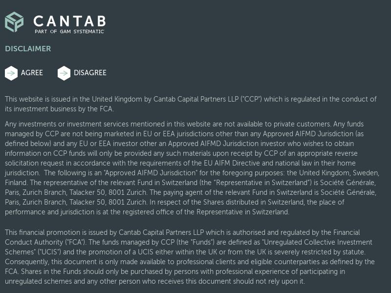 Why Cantab? - Cantab - Part of GAM Systematic