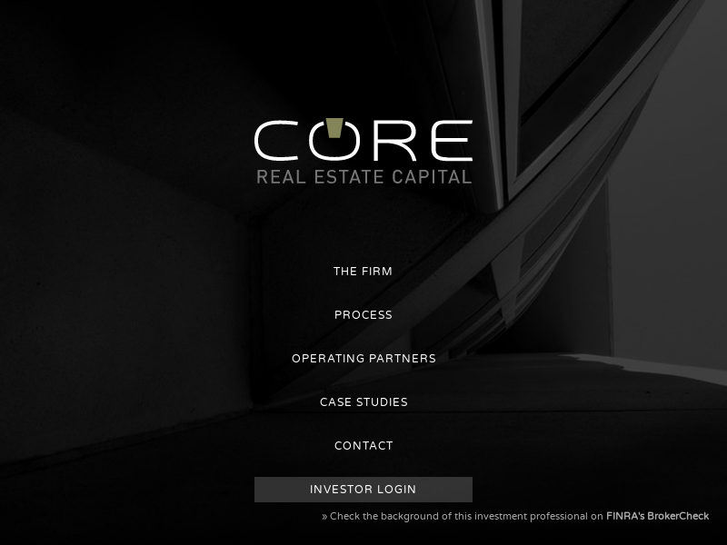 Risk-Adjusted Investment Opportunities – CORE Real Estate Capital