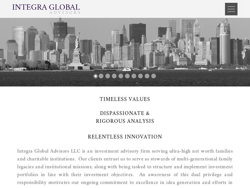 Home - Integra Global Advisors
