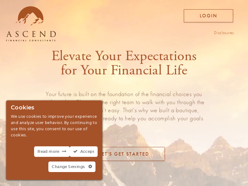 Ascend Financial Consultants - Elevate Your Expectations. Financial Planning, Retirement & Investment Strategies - Pasadena, California