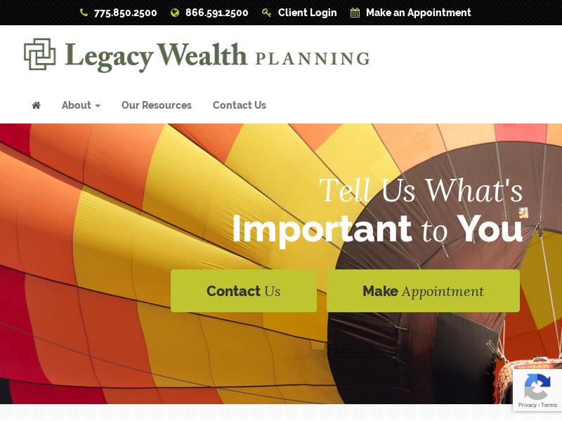 Financial Advisor | Investment Advisor | Legacy Wealth Planning