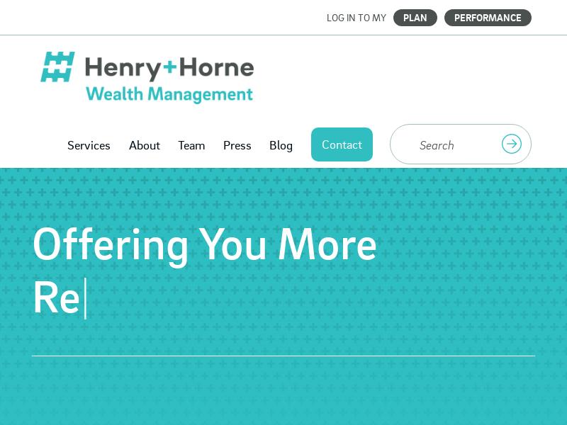 Henry+Horne Wealth Management | Financial Planning