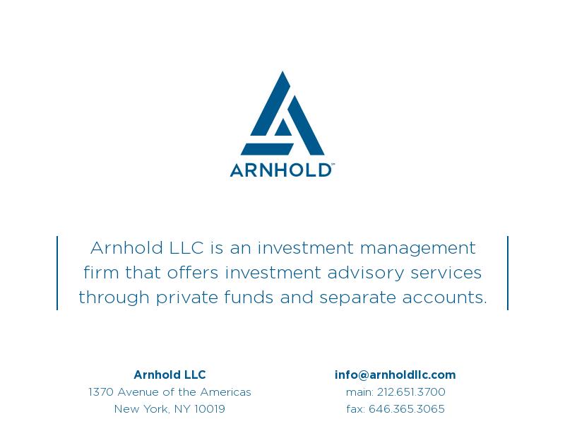 Arnhold LLC