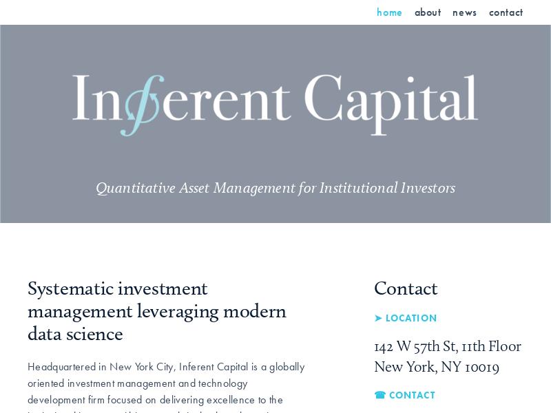 Inferent Capital, LLC