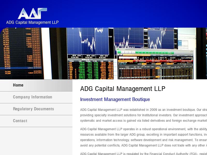 Home    ADG Capital Management